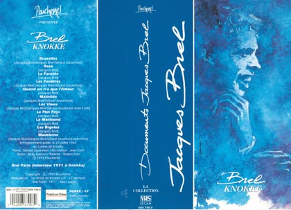 Cover of Jacques Brel video