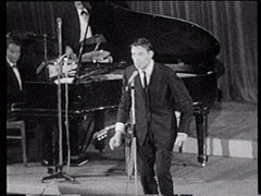 Jacques Brel in performance